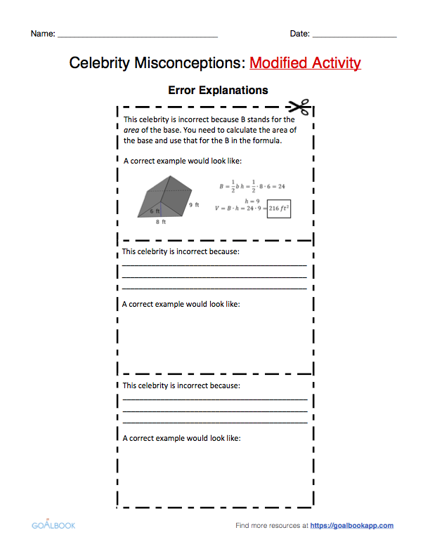 Printable Worksheets surface area and volume worksheets grade 7 : 7.G.6 Word Problems Using Area, Volume, Surface Area | Math ...