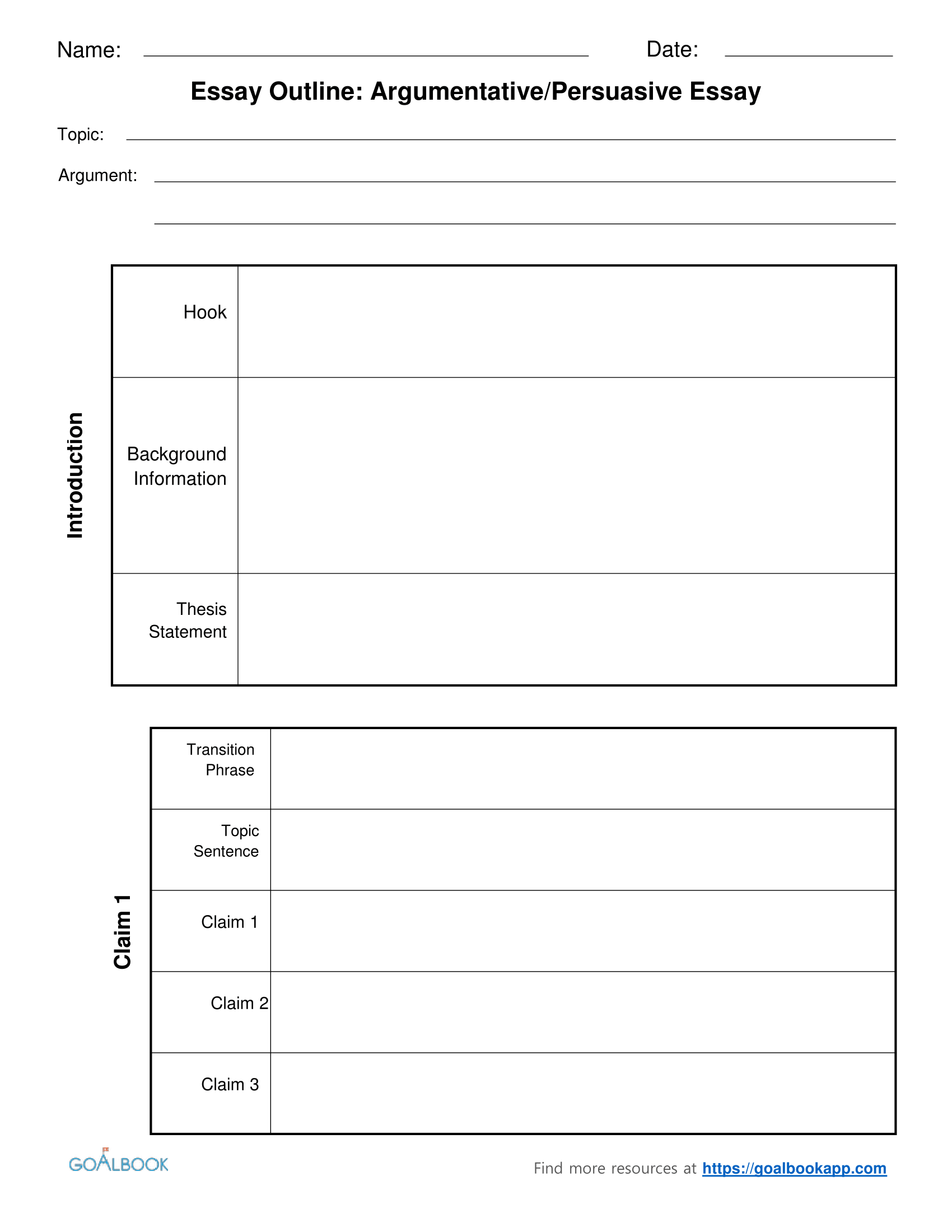 Essay Outline Udl Strategies Goalbook Toolkit
