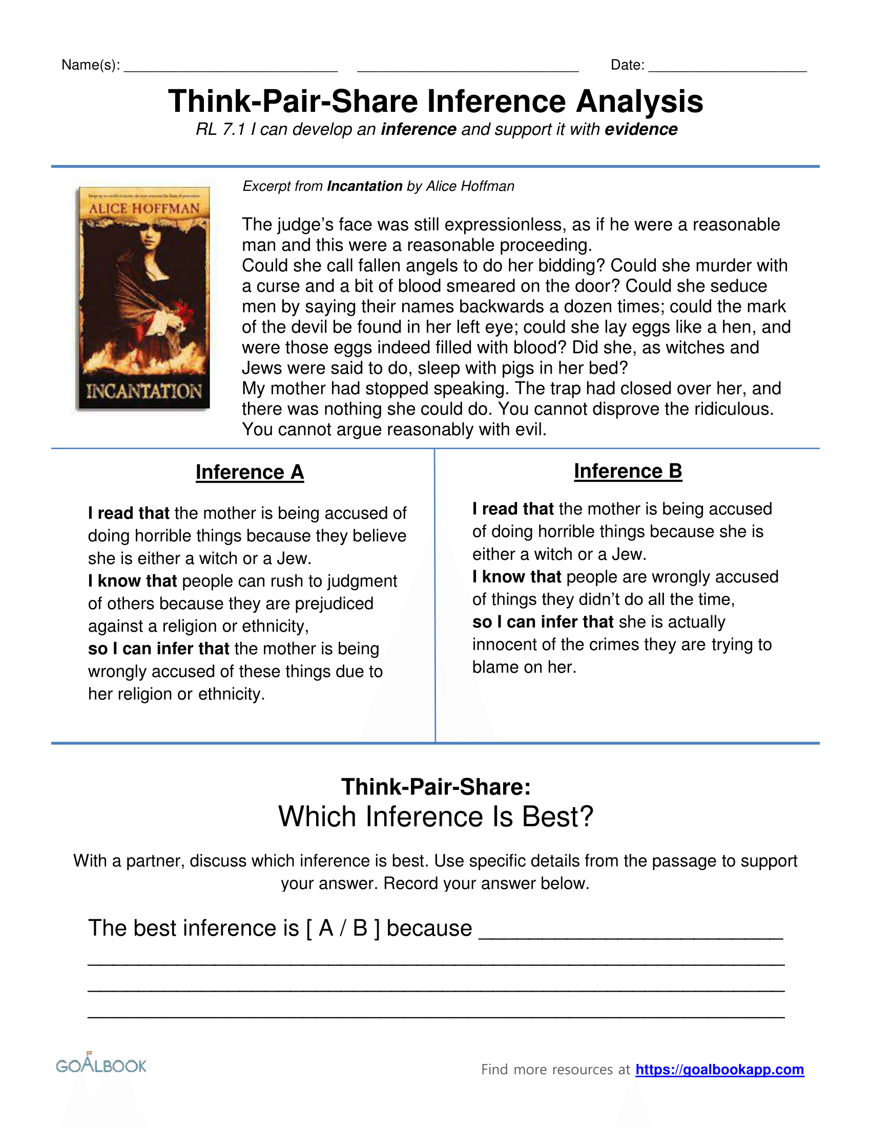 Ri71 Evidence In Informational Text Reading Informational Text