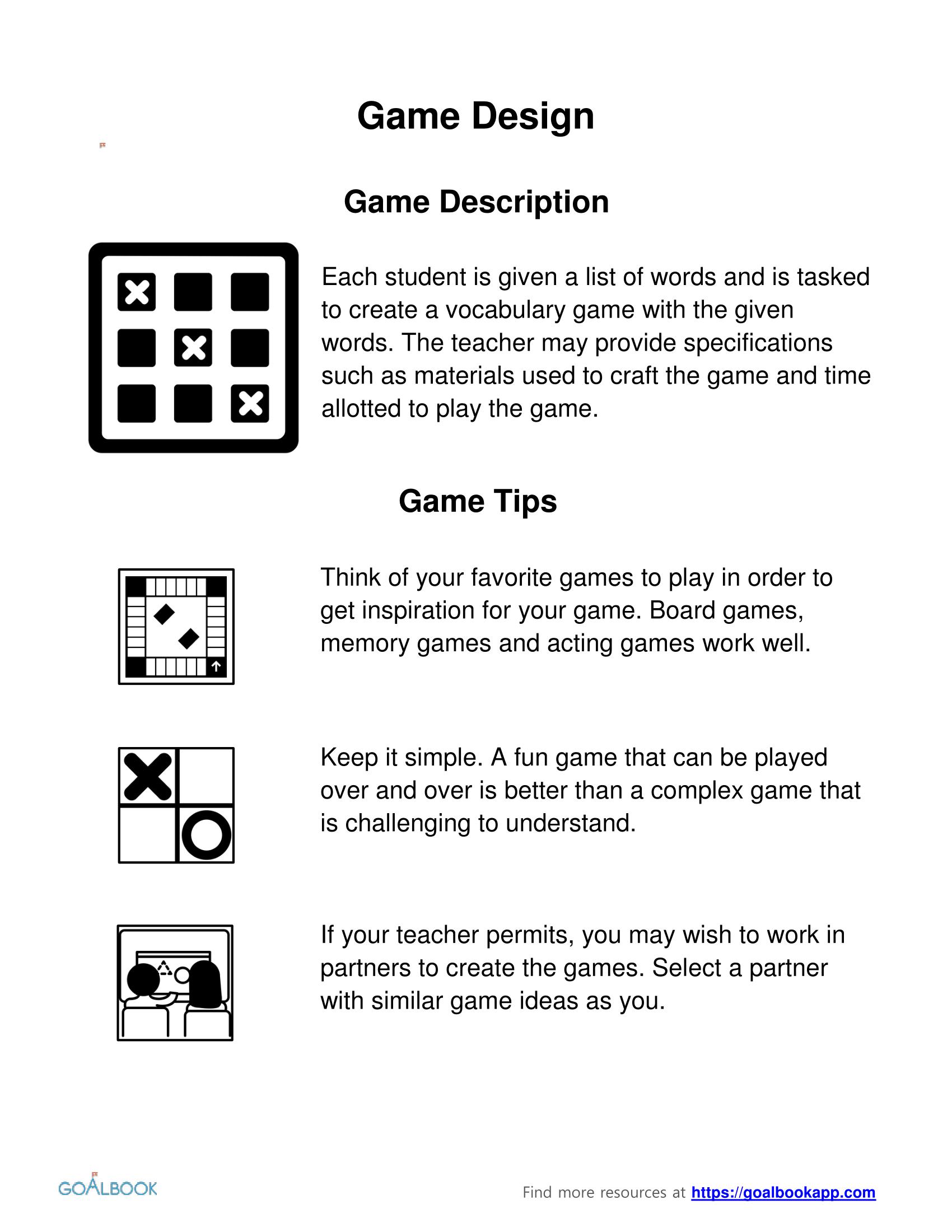Individual Word Games