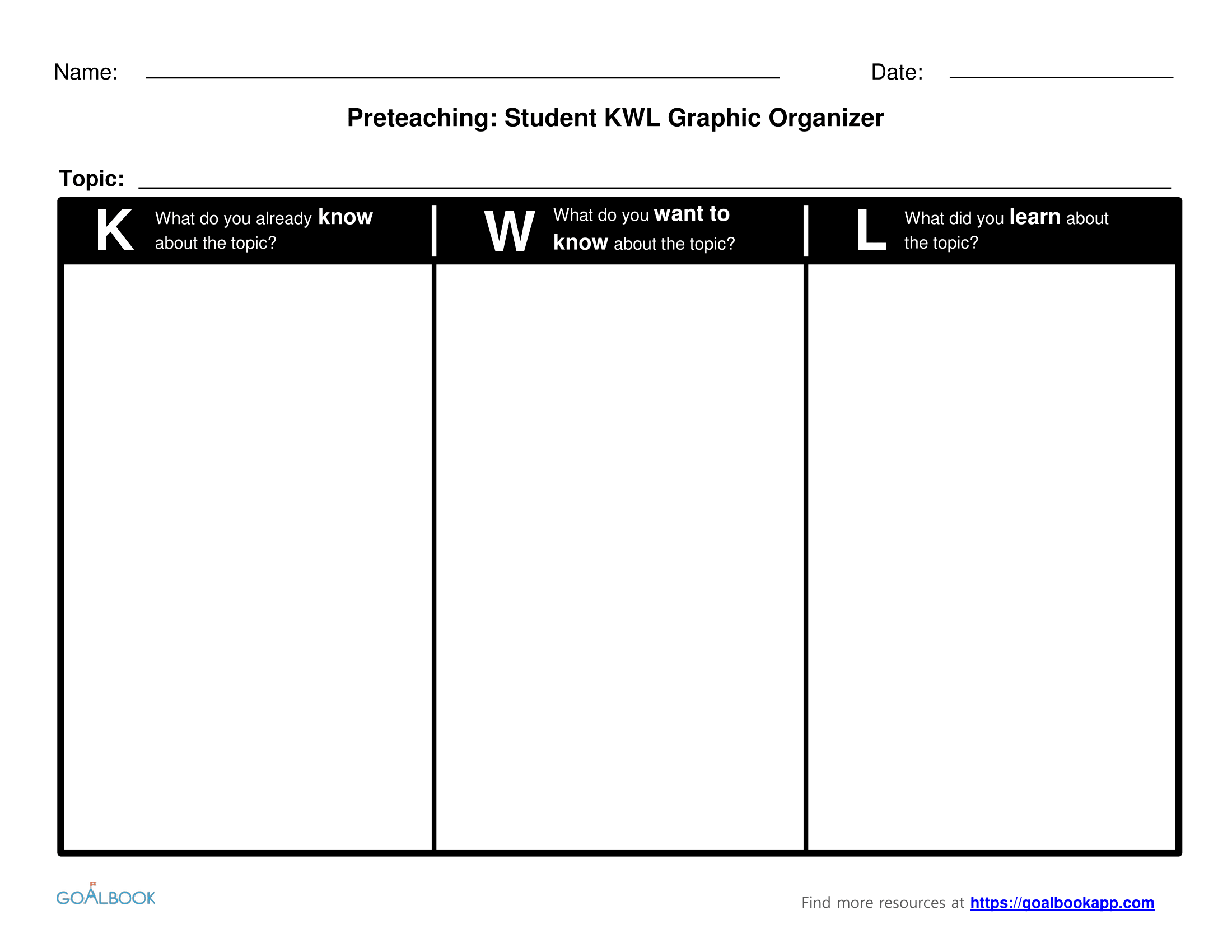 picture about Kwl Chart Printable known as KWL Chart UDL Plans