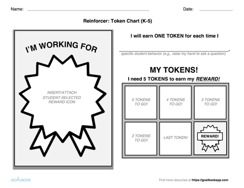 Token Board Reinforcement Templates