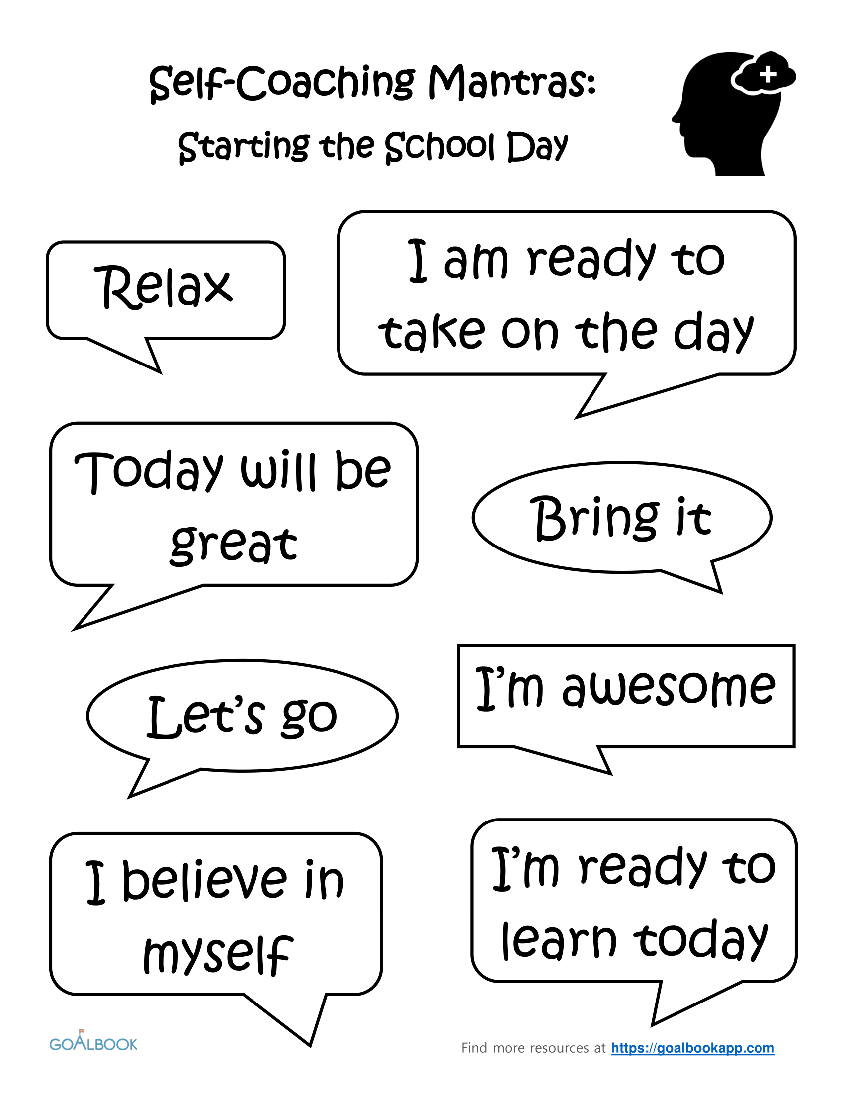 Starting the School Day: Self-Coaching Mantras