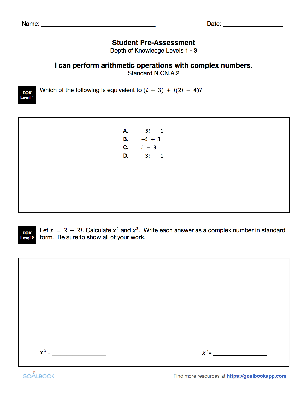 Hsn cn2 operations using complex numbers math high school no collections yet falaconquin
