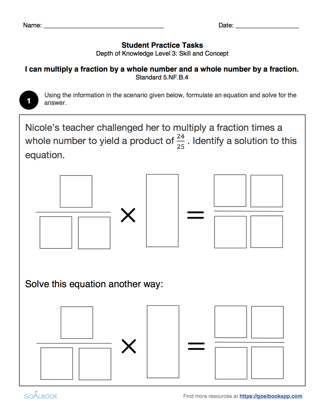worksheet Fraction Times A Whole Number Queensammy Worksheets – Fraction of a Whole Number Worksheet