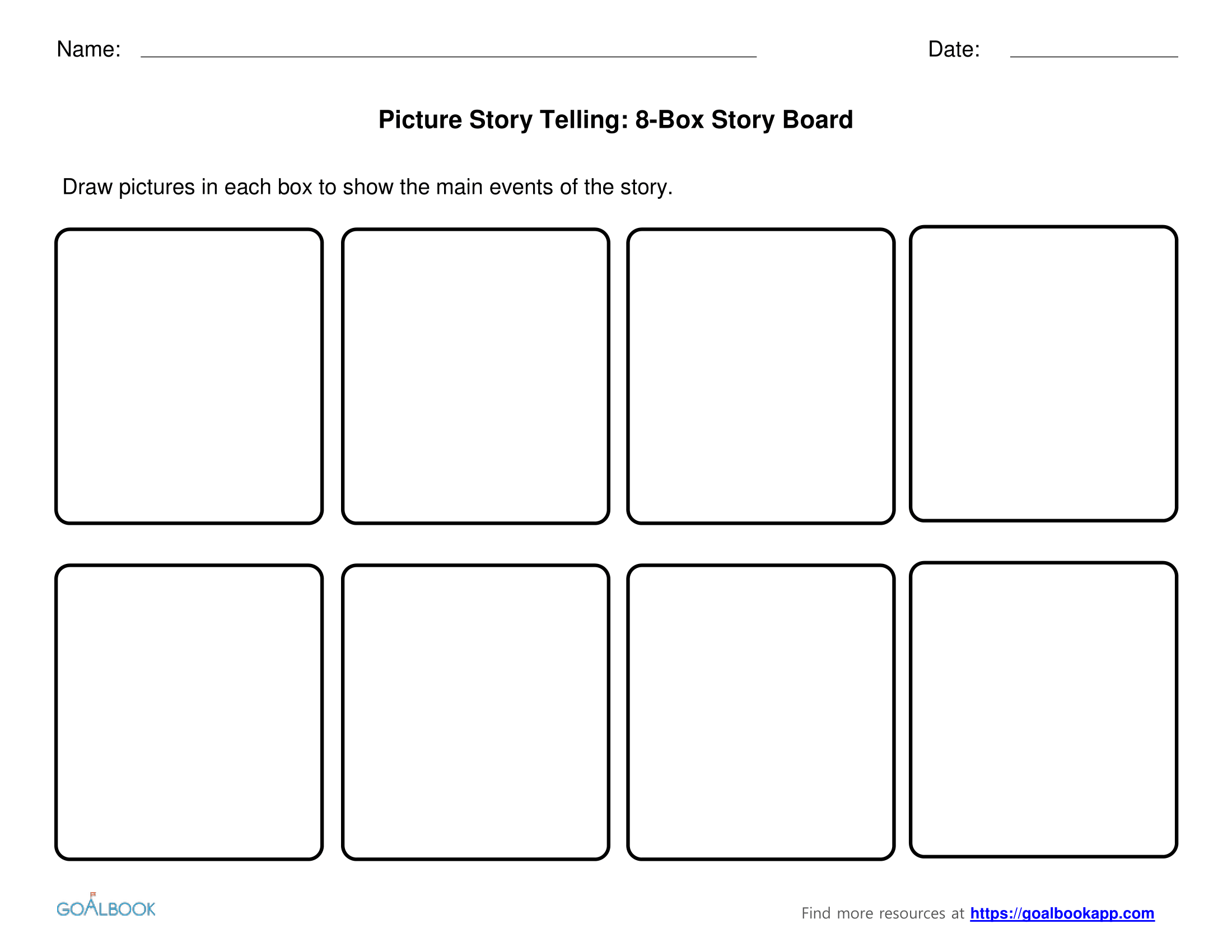 8-Box Story Boards