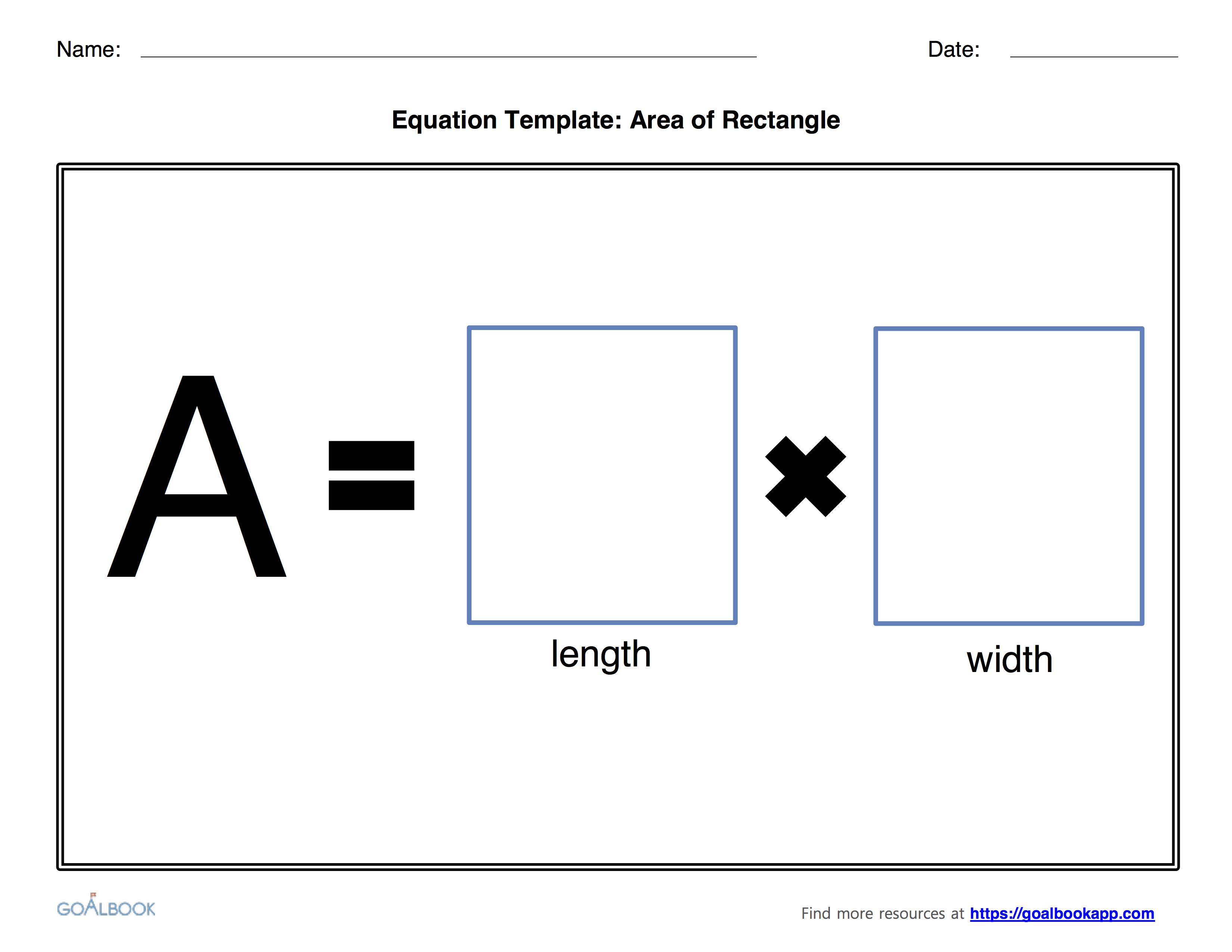 Geometry Equation Templates