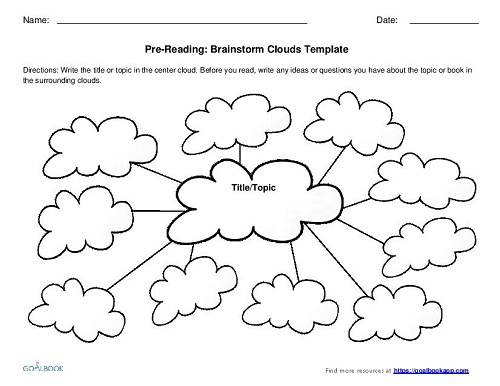 Pre-Reading Graphic Organizers (K-2)