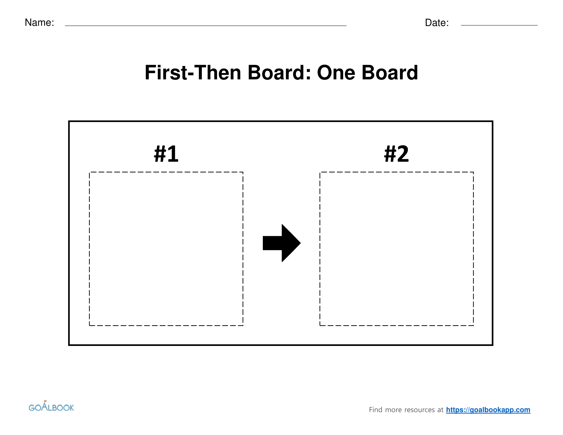 First-Then Board | UDL Strategies