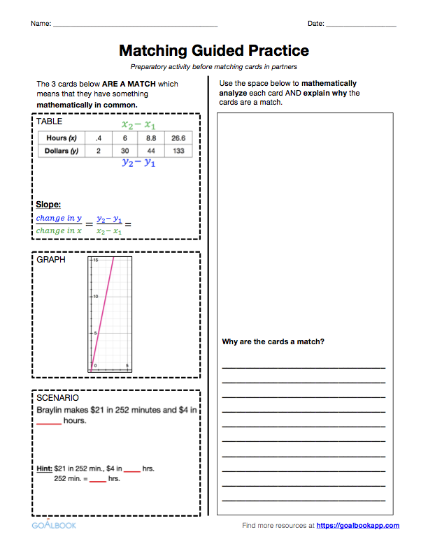7RP2 Represent Proportional Relationships – Proportional Relationships Worksheets 7th Grade