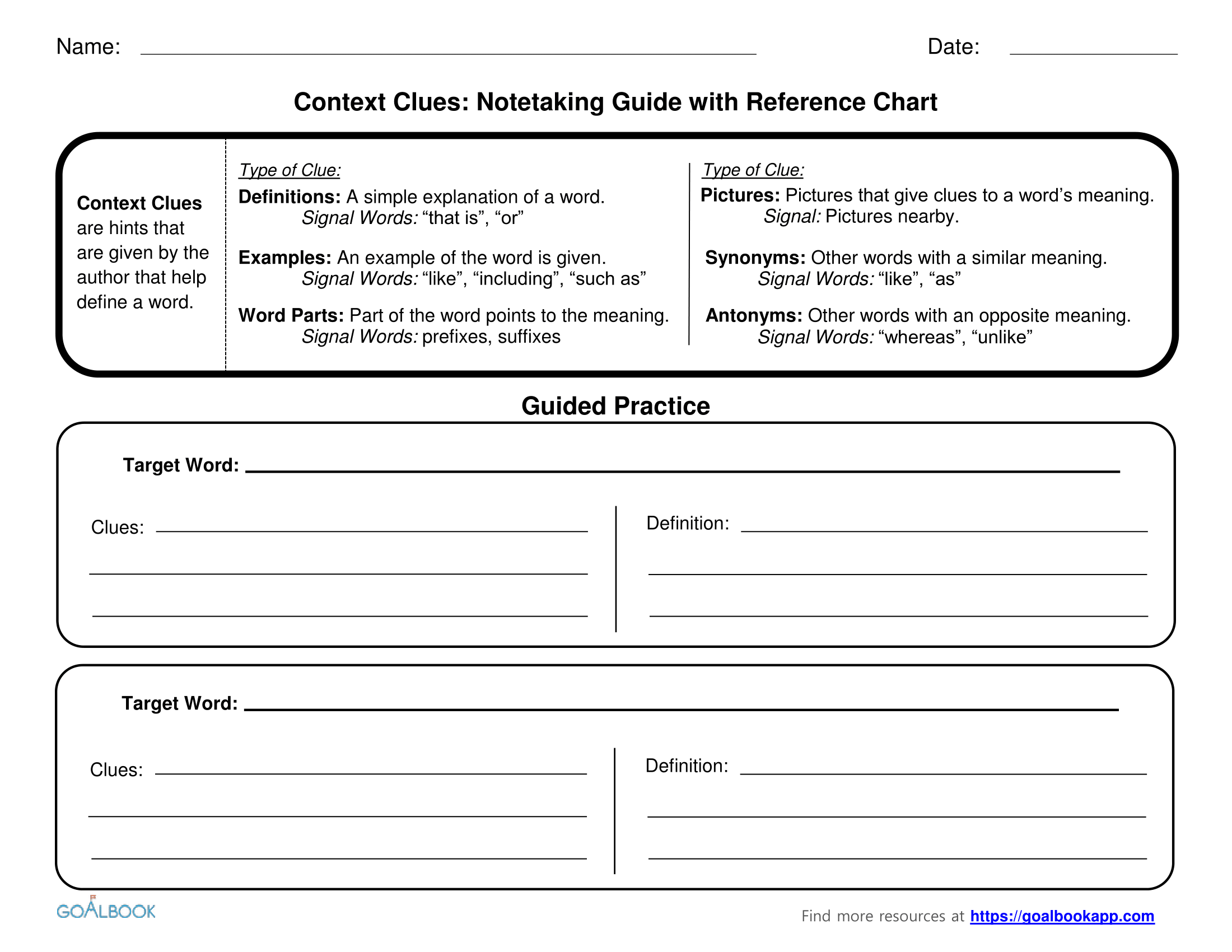 Context Clues | UDL Strategies