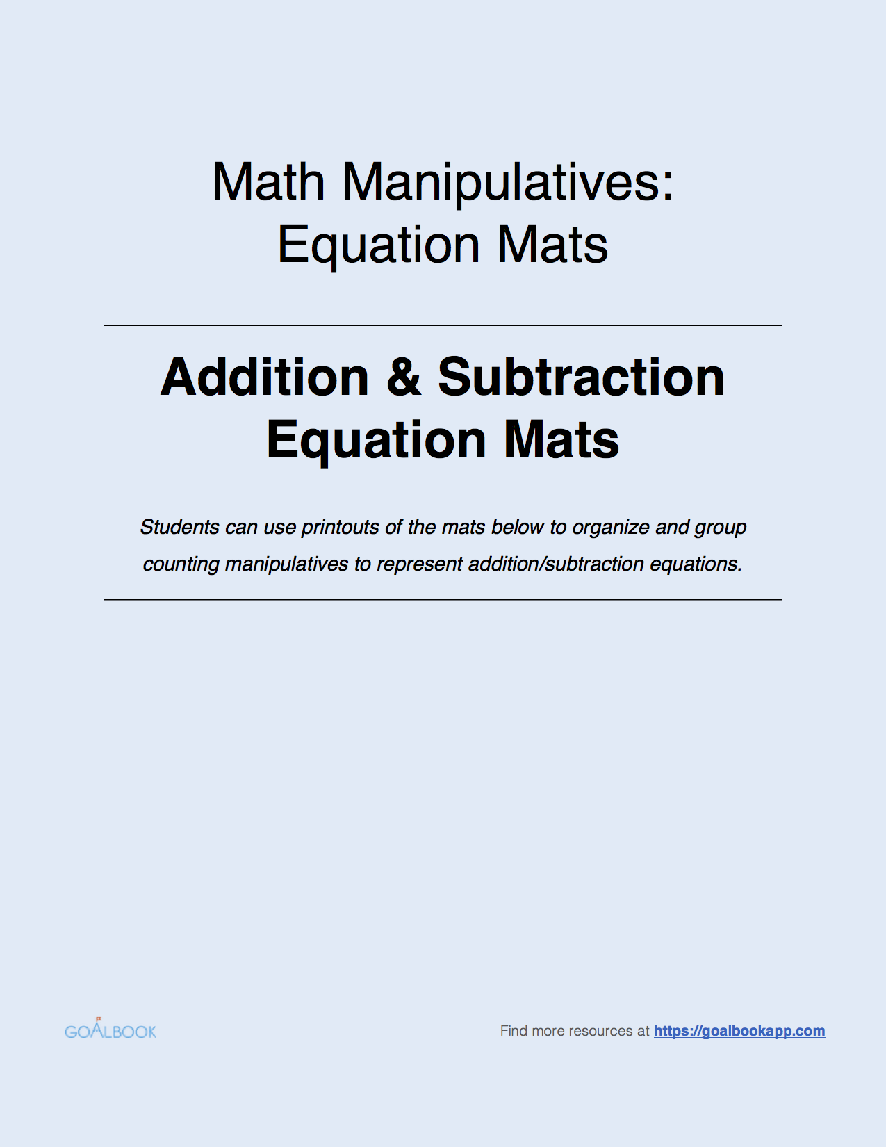 1.OA.6 Add and Subtract within 20 | Math: Operations & Algebraic ...