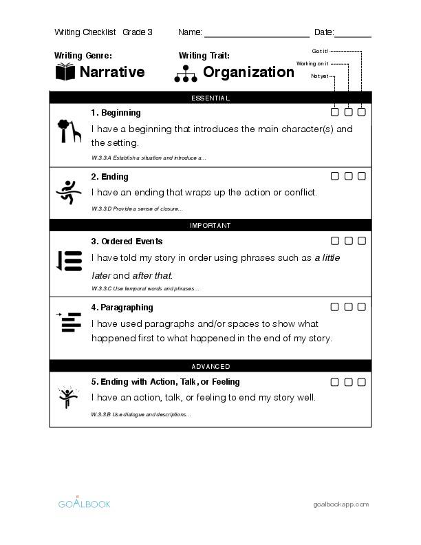student narrative essays