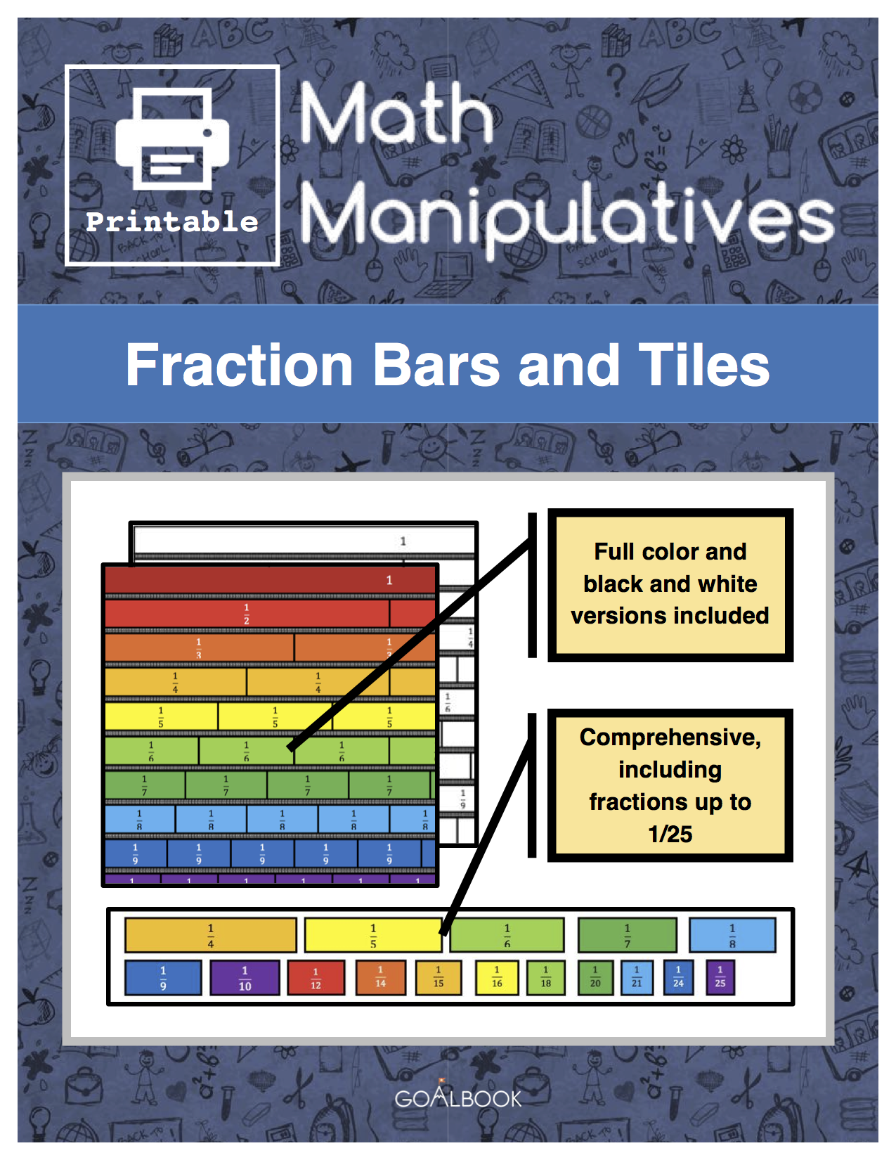 Fraction Tiles and Bars