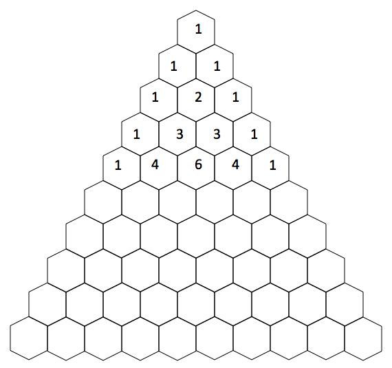 pascal triangle worksheet resultinfos. Black Bedroom Furniture Sets. Home Design Ideas