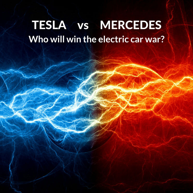Tesla vs. Mercedes|Electric car war