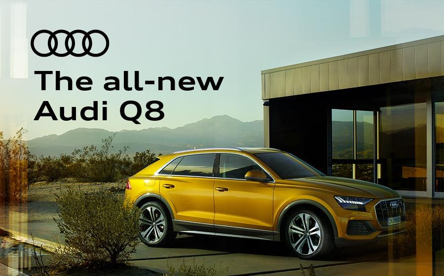 All-new Audi Q8