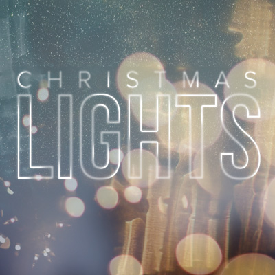 Watch messages from Christmas Lights
