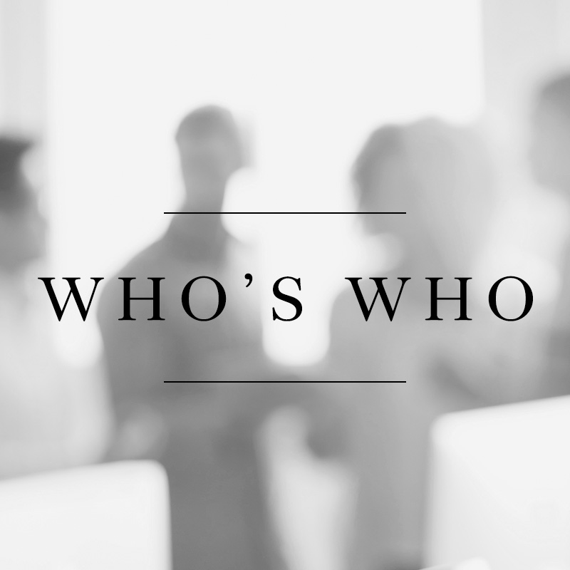 Watch messages from Who's Who