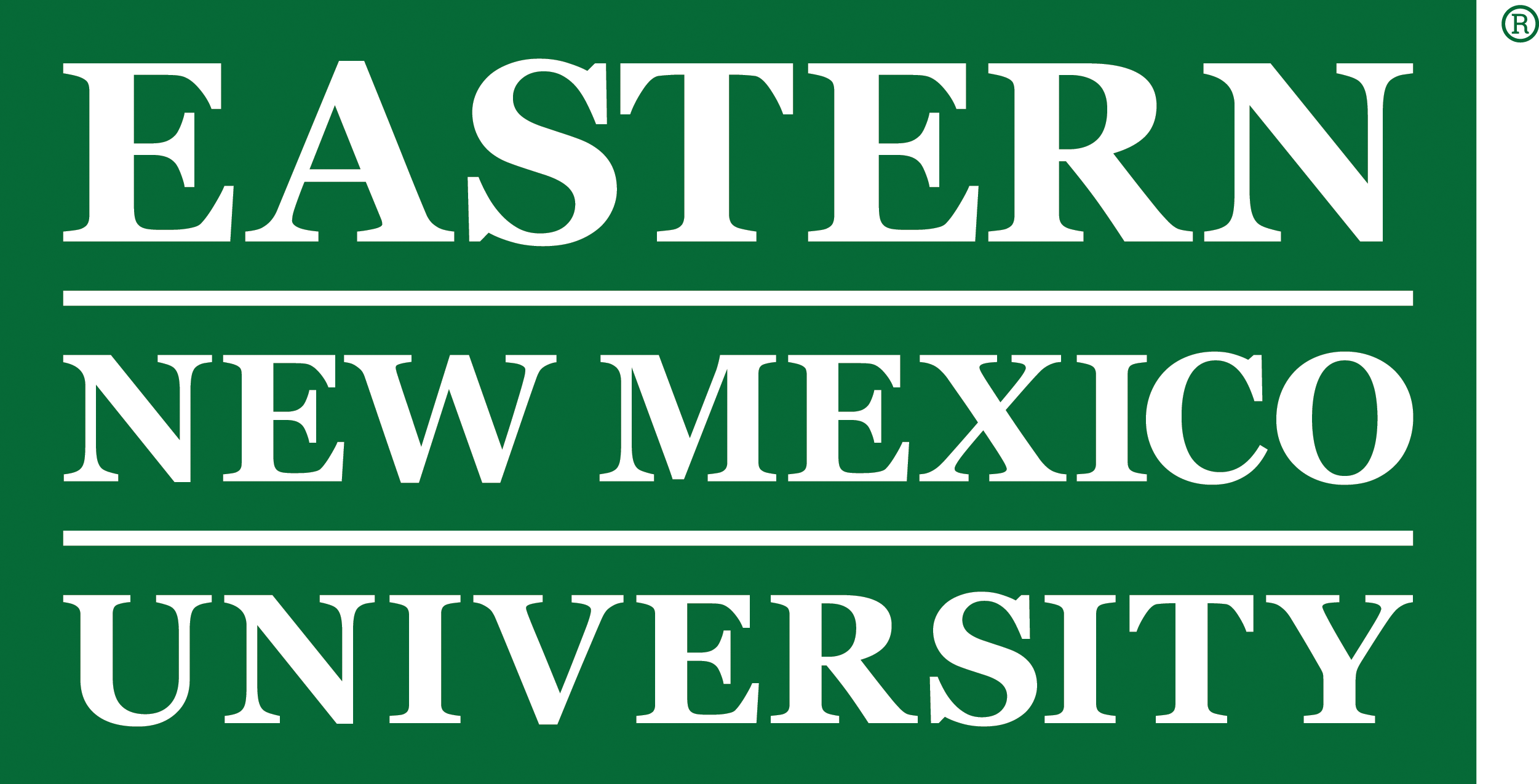 Enmu wordmark green box rgb png