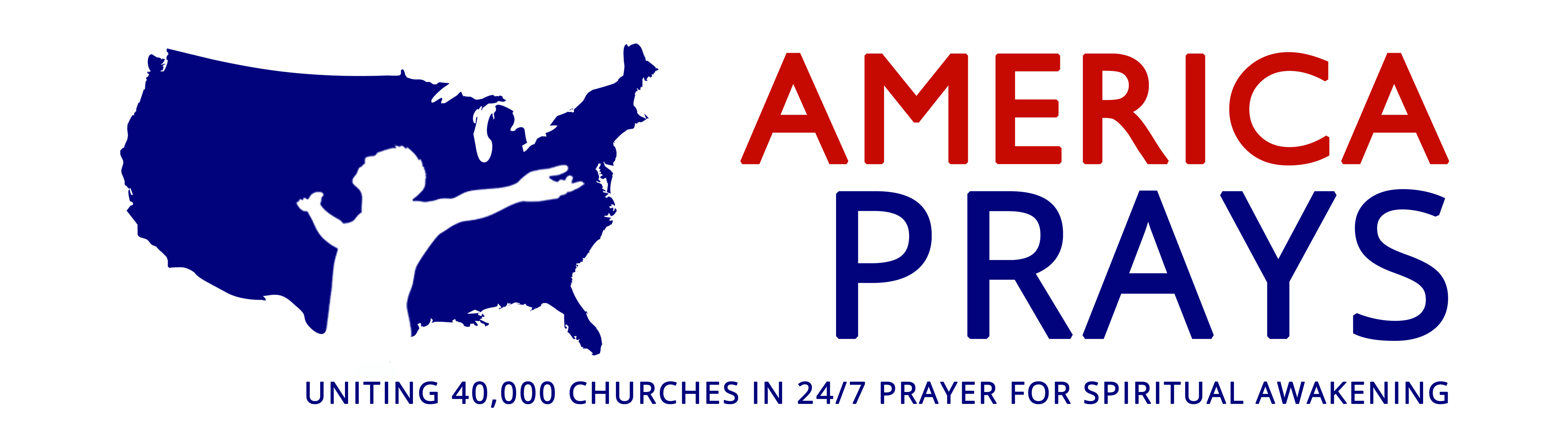 America prays horizontal logo 4c