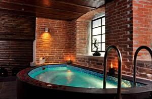 Sala de un balneario
