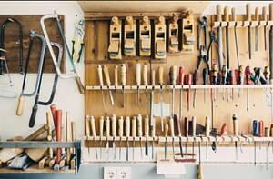 tabla de herramientas