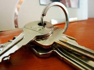 llaves de una puerta