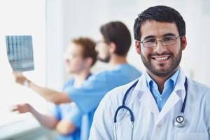 doctor de una clinica