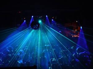 sala de una discoteca