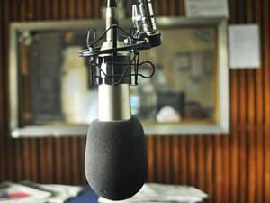 microfono de radio
