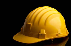 casco de obra