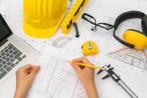 Planos para empresa constructora
