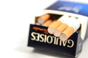 cajetilla de cigarros