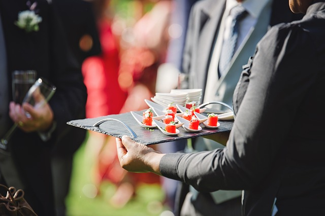 catering services for a corporate event