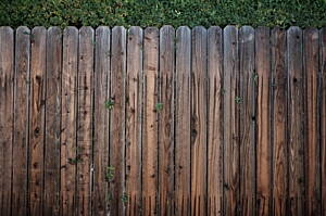 wooden fencing is one of the best garden fencing
