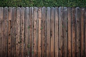 wooden fencing is one of the best garden fencing