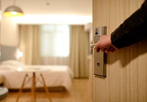 hotel accommodation and room serivices