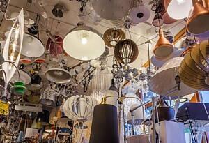 oferta de lamparas en tienda