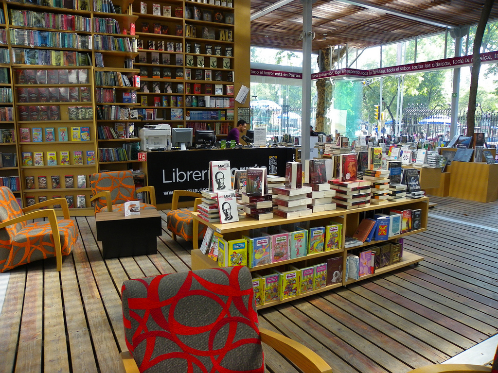 sala de una libreria
