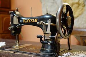 maquina de coser tradicional