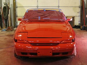 spray painting for cars at panelbeater garage