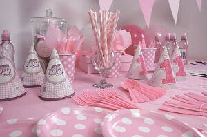 birthday party for a little girl