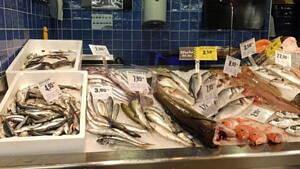 productos en una pescaderia