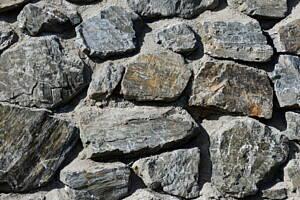 piedras en pared