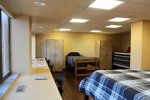 habitacion de una residencia de estudiantes