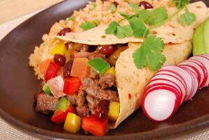 Plato de comida típica y tradicional