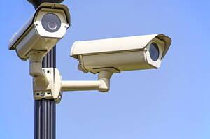 security cam,eras monitoring