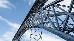 construction made of structural steel