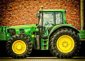 tractor de agricultura